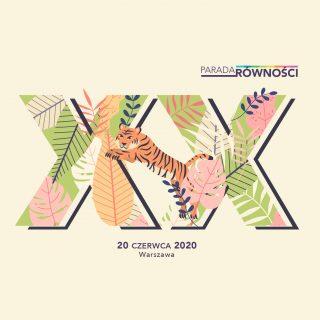 Znamy datę XX Parady Równości w Warszawie!